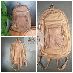 Large Backpack -Fudge (Discounted)