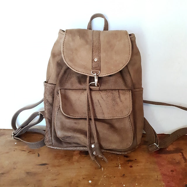 City Backpack - Light Chocolate