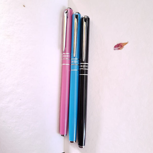 Metal Fountain Pen - Pink