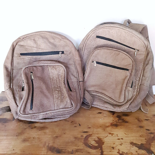 Large Backpack - Vanilla Sand (Discounted)