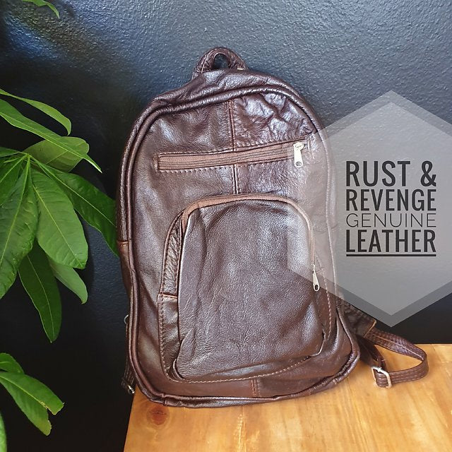 Large Backpack - Chocolate Glaze (discount)