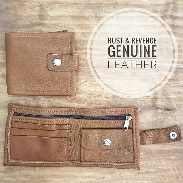 Raw Men's Wallet - Caramel