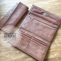 Ladies Wallet - soft caramel (discount)