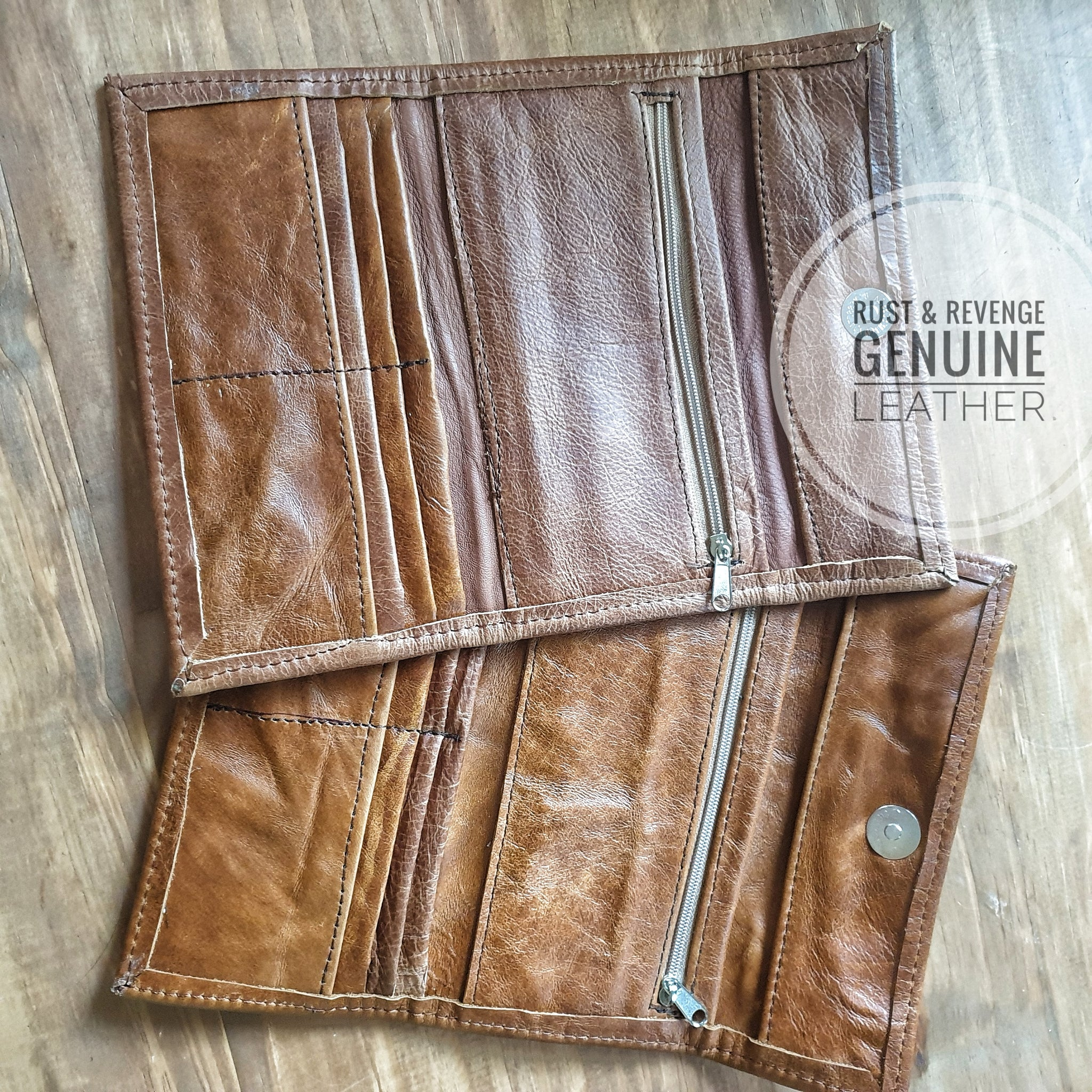 Ladies Wallet - caramel