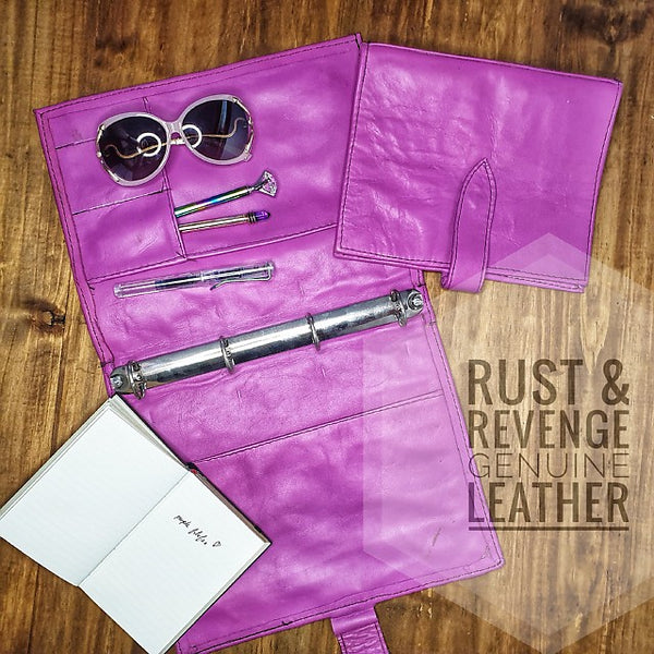 Rustic Filofax - Purple A4 (discounted)