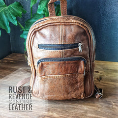 BackPack Medium - Caramel