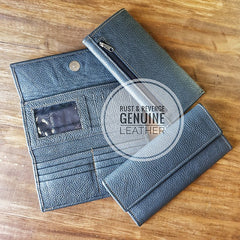 Ladies Wallet - Grey