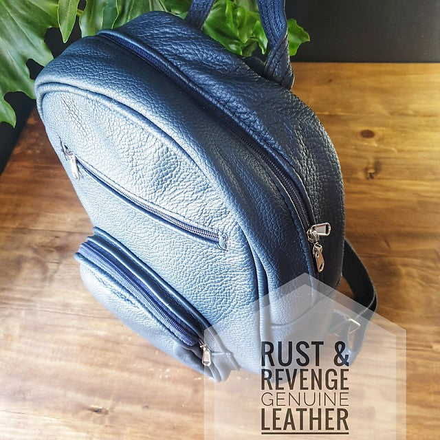 Large Backpack - Blue