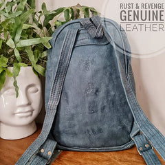 x Large Backpack - Blue Denim