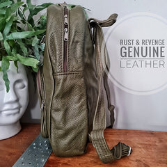 x Large Backpack - olive