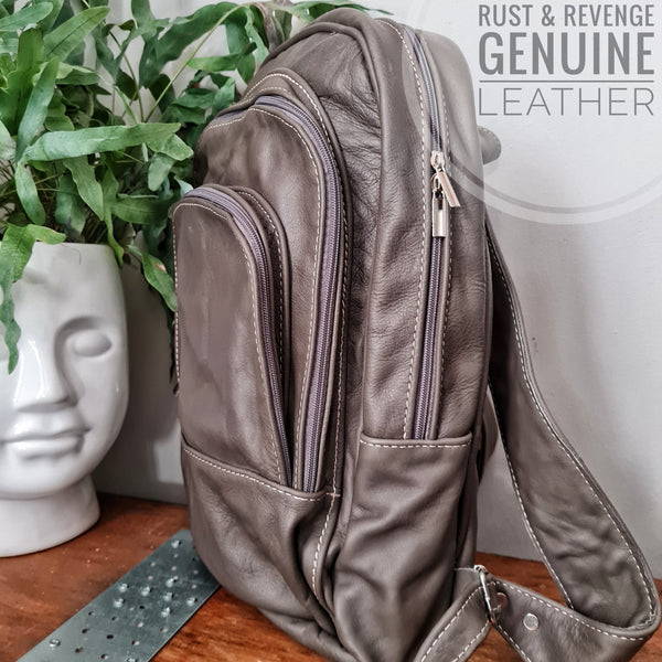 Big Pockets Backpack - Grey