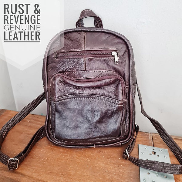 BackPack Medium - choc glaze