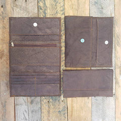 Ladies Wallet - Soft Chocolate (discounted)