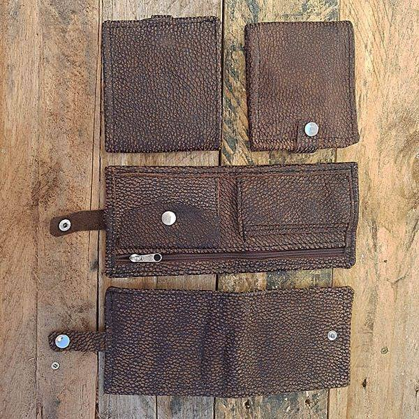 Raw Men's Wallet - soft Choc