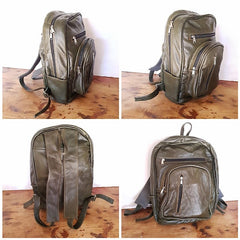 Large Backpack - Olive Green (Discounted)