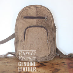 Large Backpack - Light Chocolate