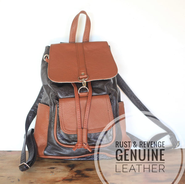 City Backpack - Chocolate Caramel