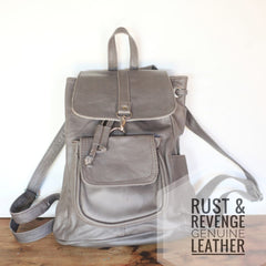 City Backpack - Smooth Grey (discounted)