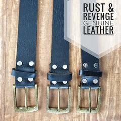 Leather Belt - Albany