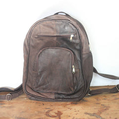 Large Backpack - Soft Chocolate (discount)