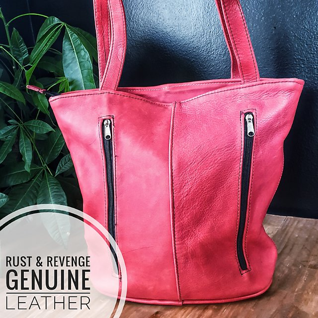 Pixie Shopper - Coral  (dicounted)
