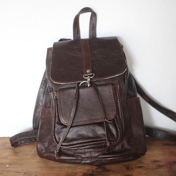 City Backpack - Glazed Chocolate