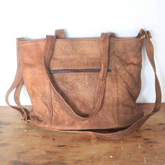 Geometric Shopper - Fire Sling