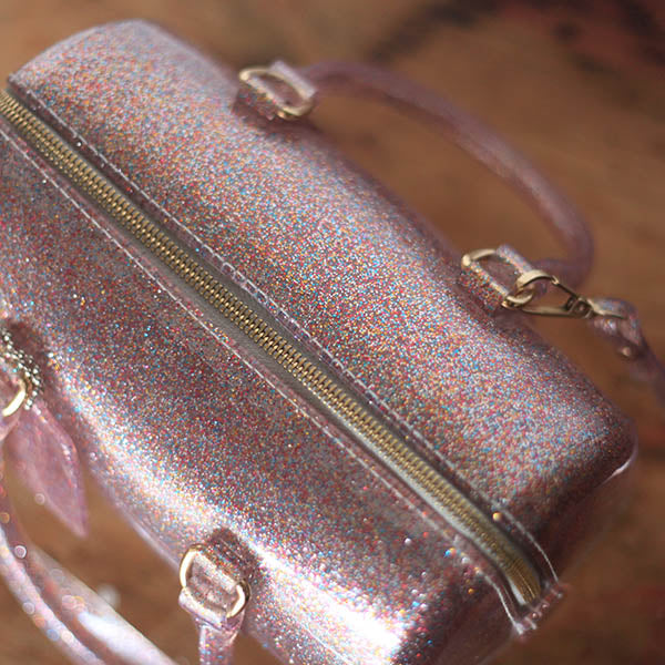 Jelly Glitter Bag