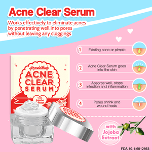 SERUM ANTI JERAWAT ALAMI ~ ACNE CLEAR SERUM 5gr 3pcs