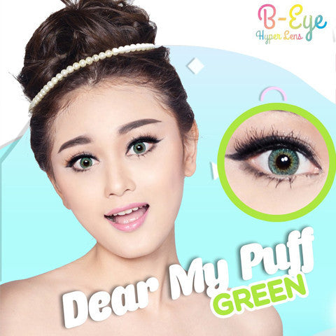 B-Eye Dear My Puff Green