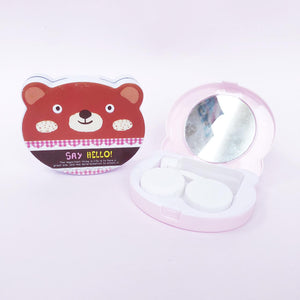 Tempat Softlens Bear Say Hello White
