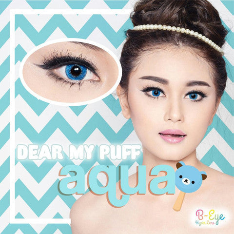 B-Eye Dear My Puff Blue