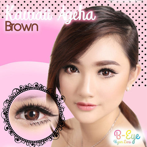 B-Eye Kawaii Ageha Brown