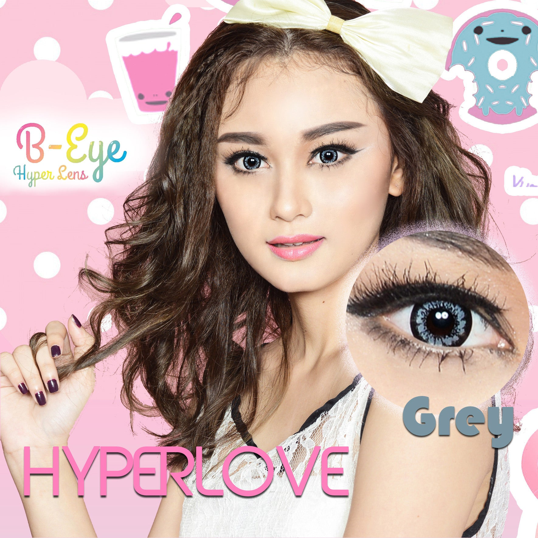 B-Eye Hyper Love Gray