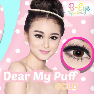B-Eye Dear My Puff Gold