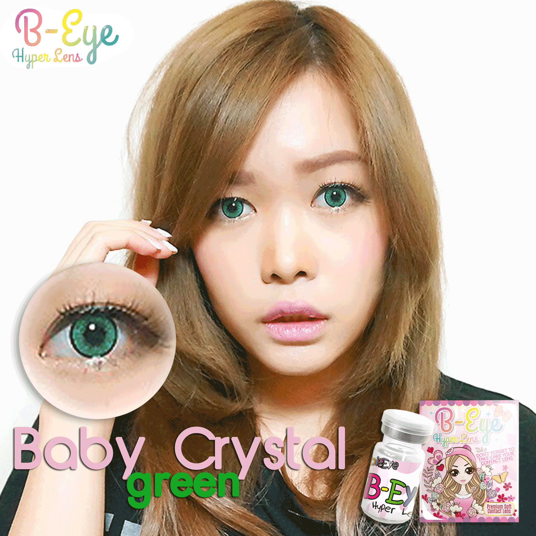 BABY CRYSTAL GREEN