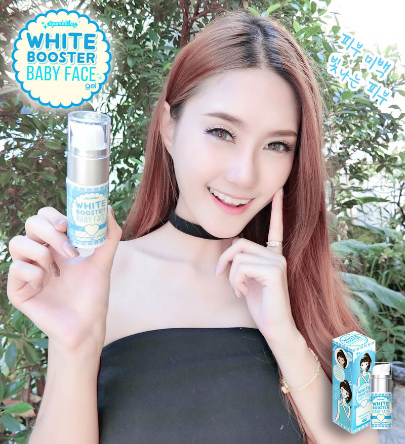 SPARKLING WHITE BOOSTER SILKY FACE GEL