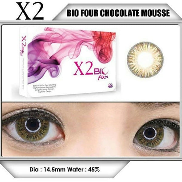X2 Bio Four Chocolate Mousse
