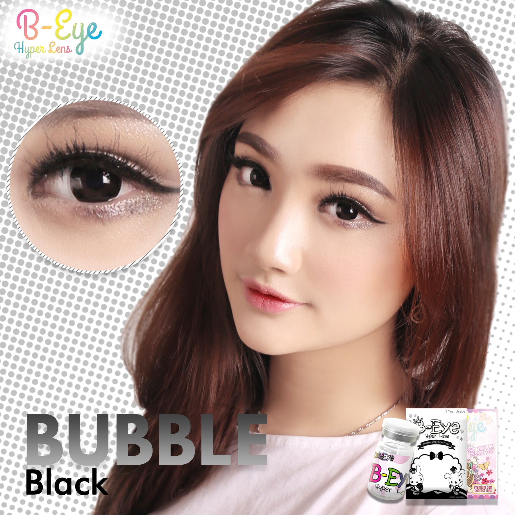 B-Eye Bubble Black