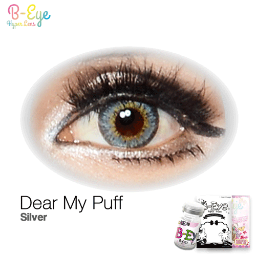 B-Eye Dear My Puff Silver