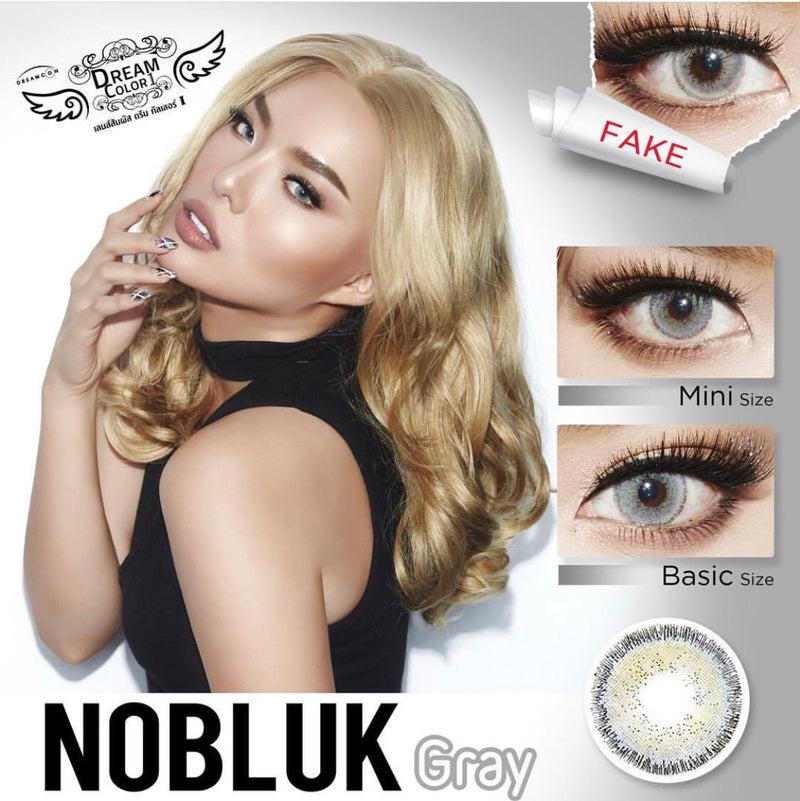 Softlens Dreamcolor Thailand Original - NOBLUK GRAY
