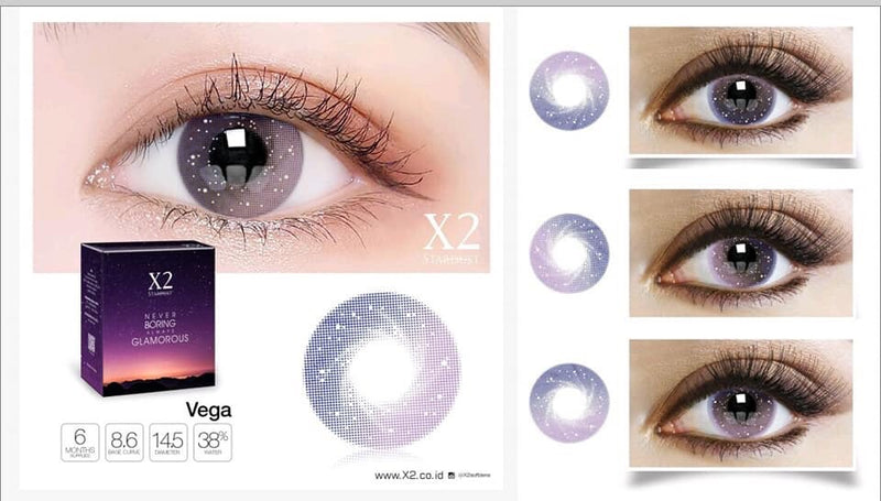 Softlens X2 New Stardust Vega