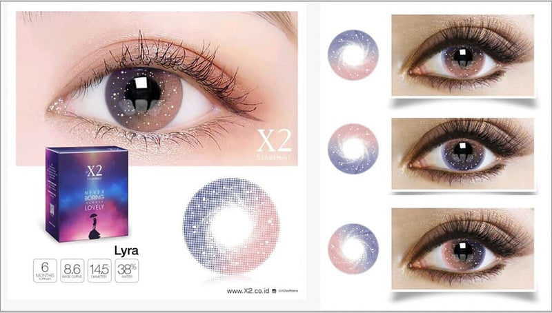 Softlens X2 New Stardust Lyra