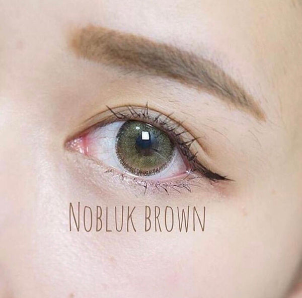 Softlens Dreamcolor Thailand Original - NOBLUK BROWN