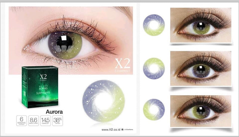 Softlens X2 New Stardust Aurora