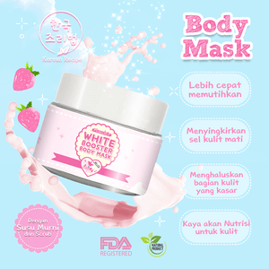 SPARKLING WHITE BOOSTER BODY MASK