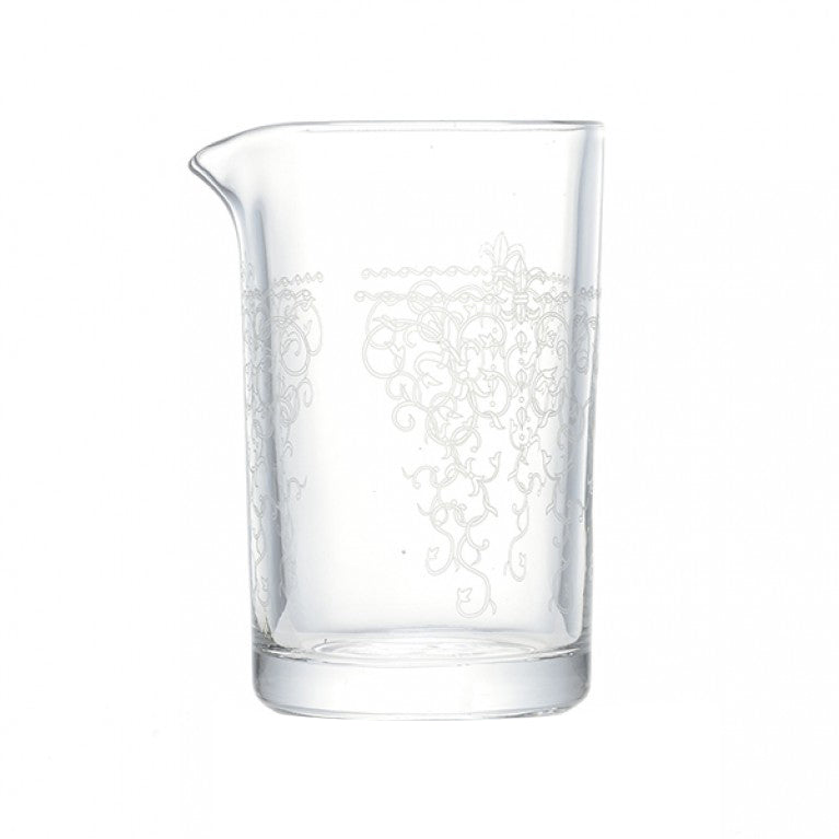 Seamless Mixing Glass - Bacchus Pattern 550ml | Tempered Glass