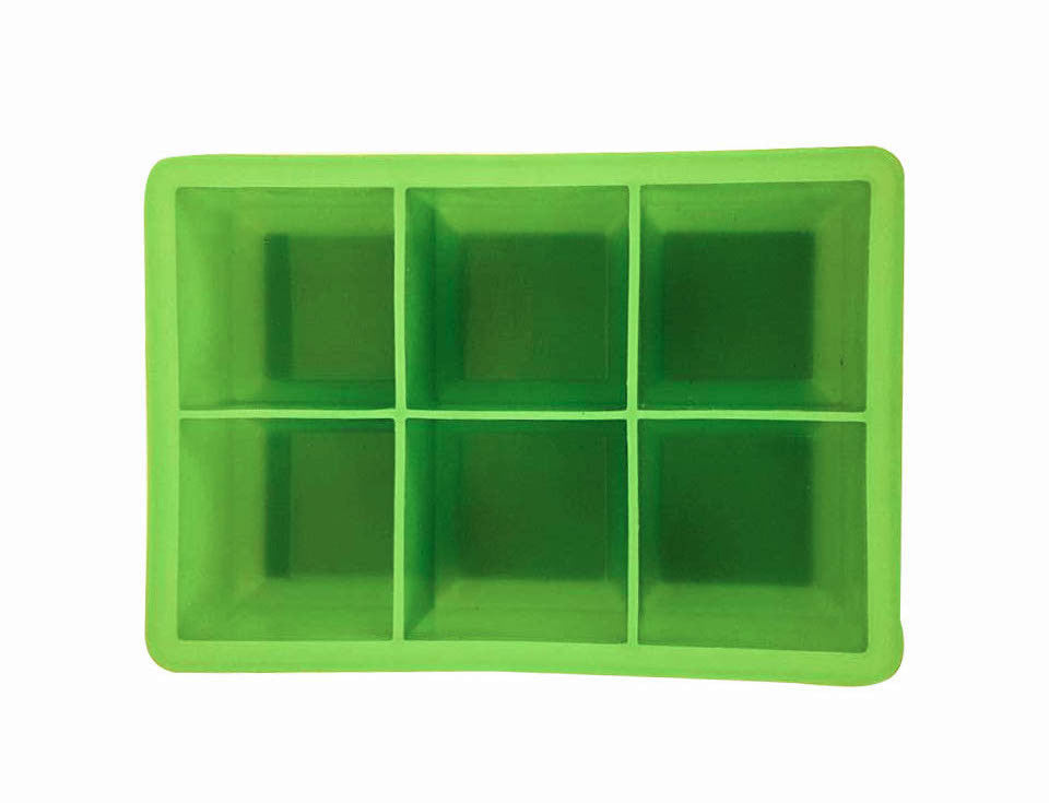 Ice Cube Mold (6-cavity) | Silicone