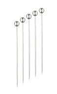 Ball-End Cocktail Picks - 9.5cm (10 pieces) | 304 Stainless