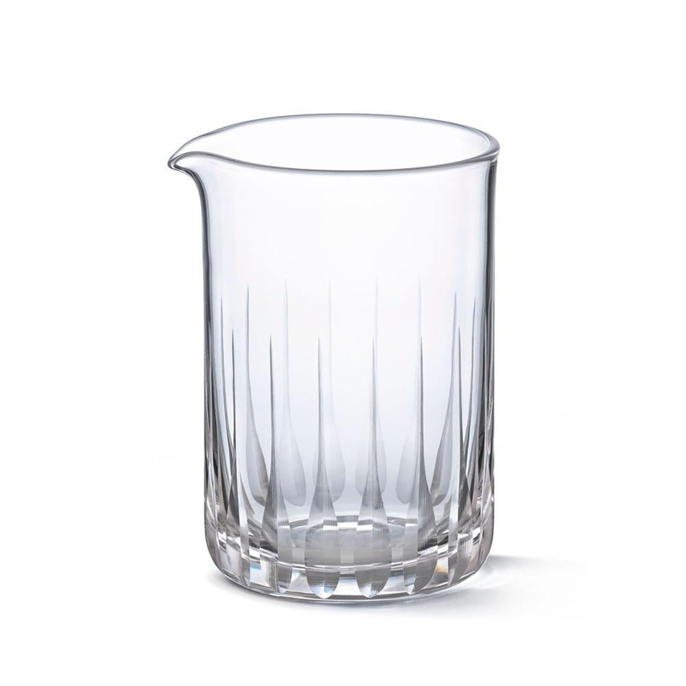 Seamless Mixing Glass - Paddle Pattern 550ml | Tempered Glass